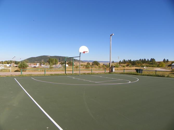 Sundance City Basketball Court