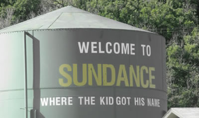 Sundance Water Tower