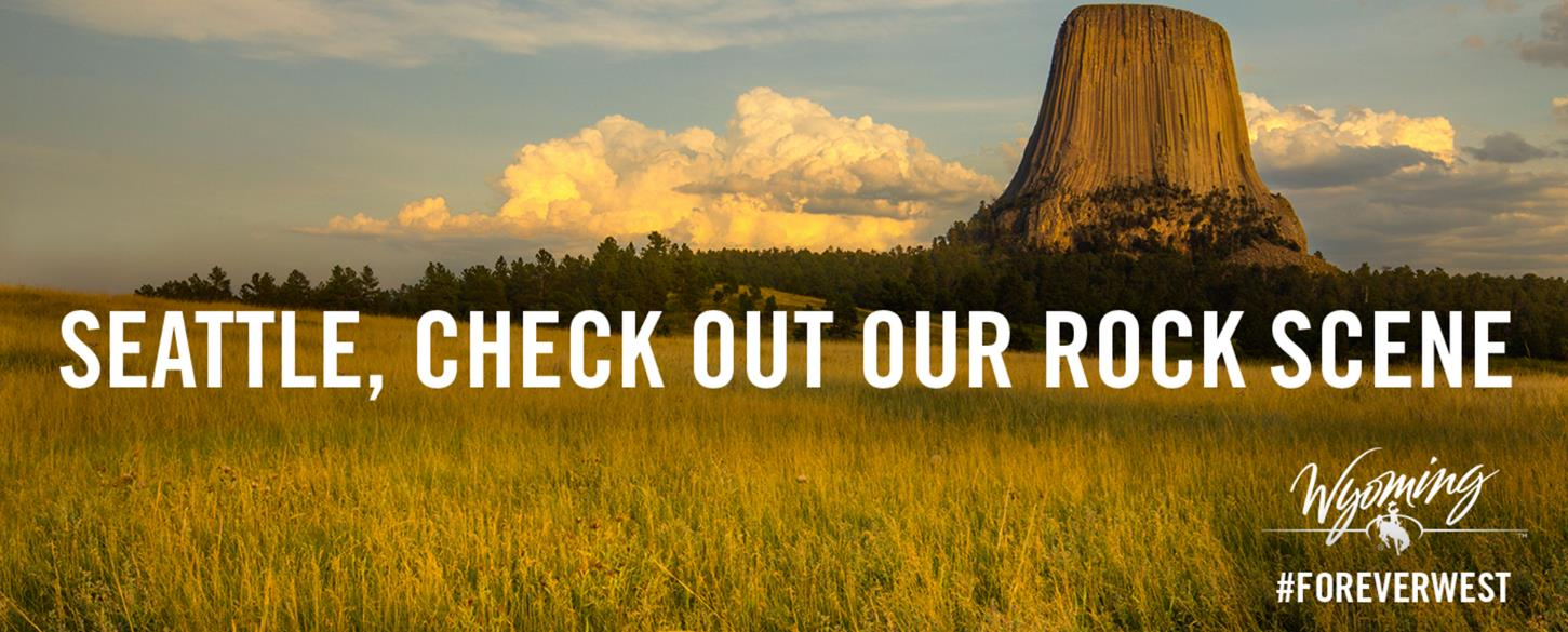 devils tower forever west banner