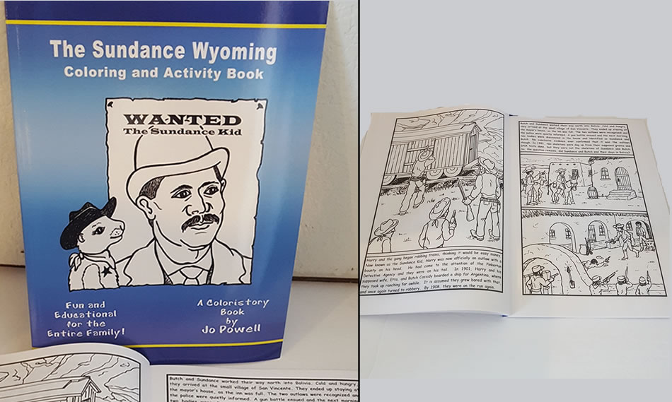 sundance coloring book
