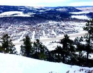 View of Sundance from Sundance Mountain