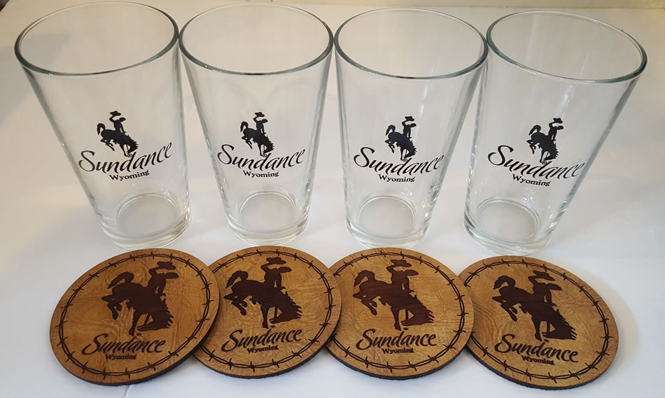 sundance pint glass set