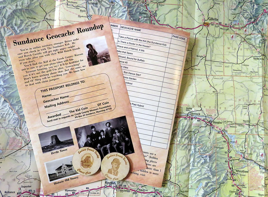 Sundance geocache passport